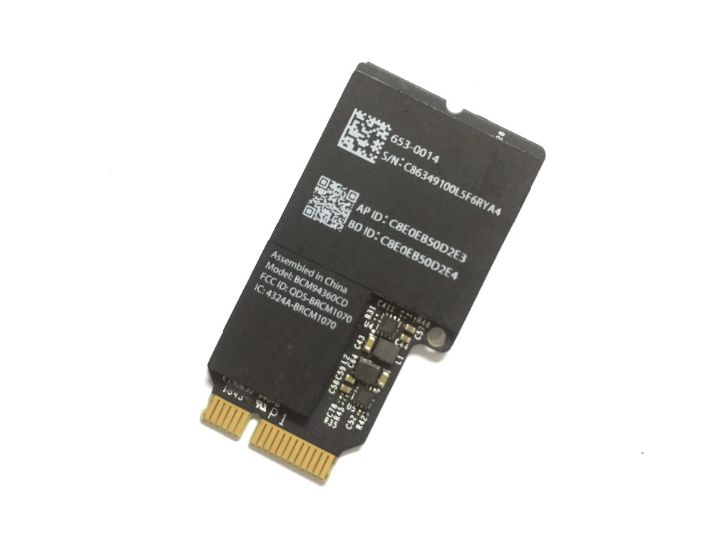 Broadcom WiFi Wlan Bluetooth BT 4.0 Carte BCM94360CD BCM4360CD 802.11ac A1418 A1419 635-0014