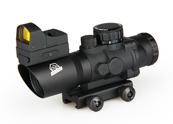 Tactical  4x32 Rifle Scope With Mini Red Dot For Hunting Shooting Outdoor Sport HS1-0289