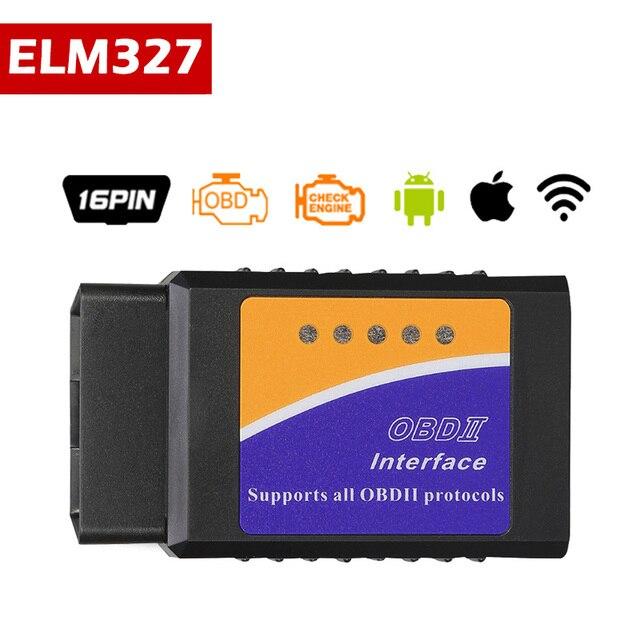 ELM327 V1.5 Wifi Bluetooth OBD2 סורק OBD OBD 2 Bluetooth מתאם סורק Automotivo elm327 wifi dijagnostic רכב pic18f25k80