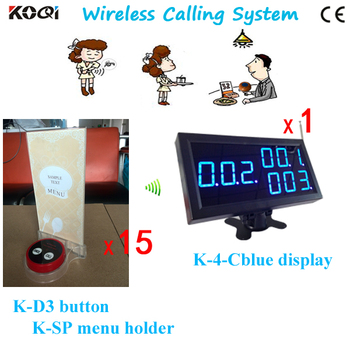 Restaurant Pager for Guest Paging, Table Call System With Wireless Receiver