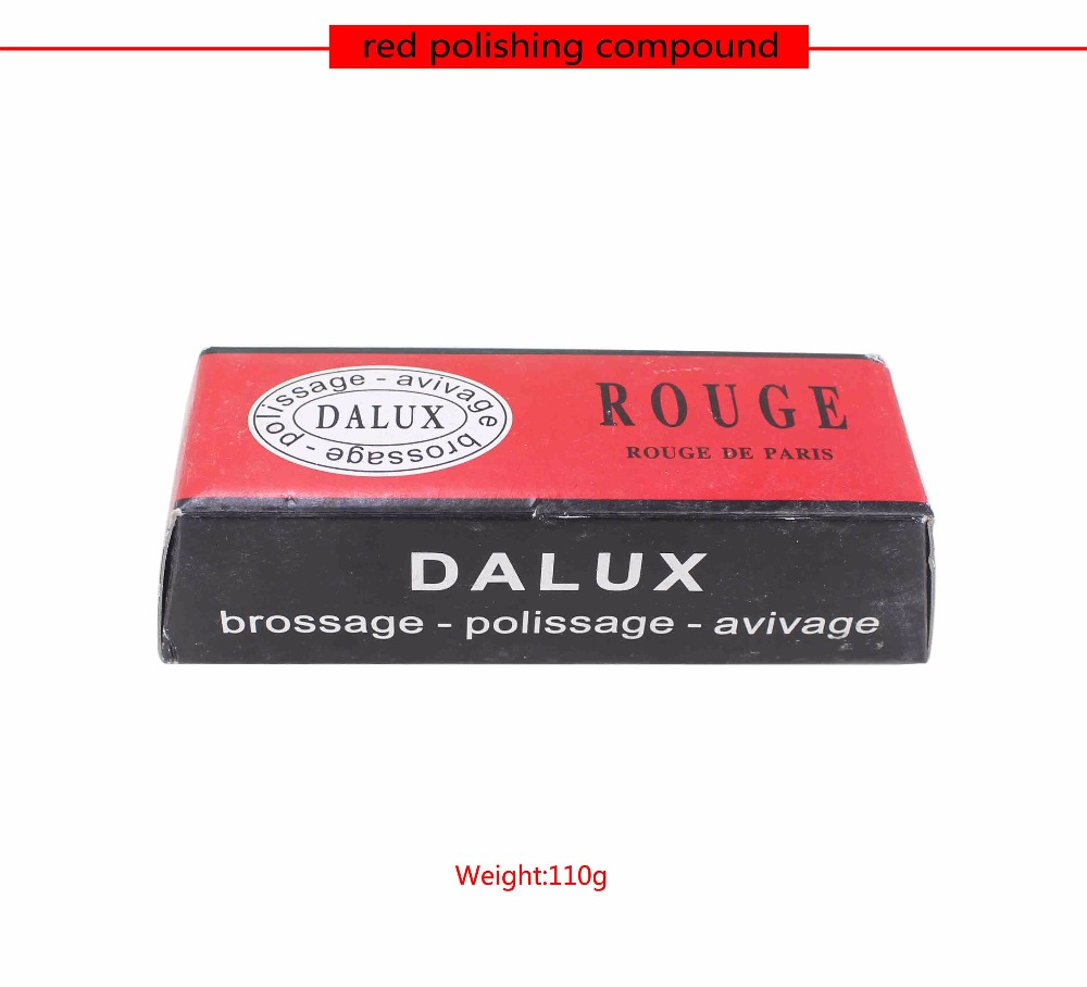 Free Shipping Red DIALUX ROUGE JEWELERS ROUGE POLISHING COMPOUND For GOLD &ILVER,Rouge Bar Polishing Wax Compound France