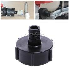 """275-330 Gallon IBC Tote Tank Drain Adapter Coarse Thread 2"""" To 3/4"""" Garden Hose R02 Whosale&DropShip"""