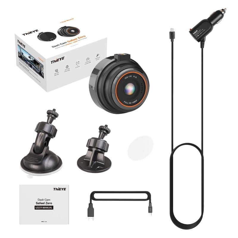 Thieye Dash Cam Safeel Zero Car Dvr Dash Camera Real Hd 1080P 170 Wide Angle Dashcam With G-Sensor Parking Mode Car Camera Rec