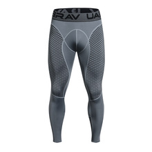 UABRAV Compression Jogging Pants Men running tights long Sweat Basketball Running Training Sporswear Gym Leggings for Fitness