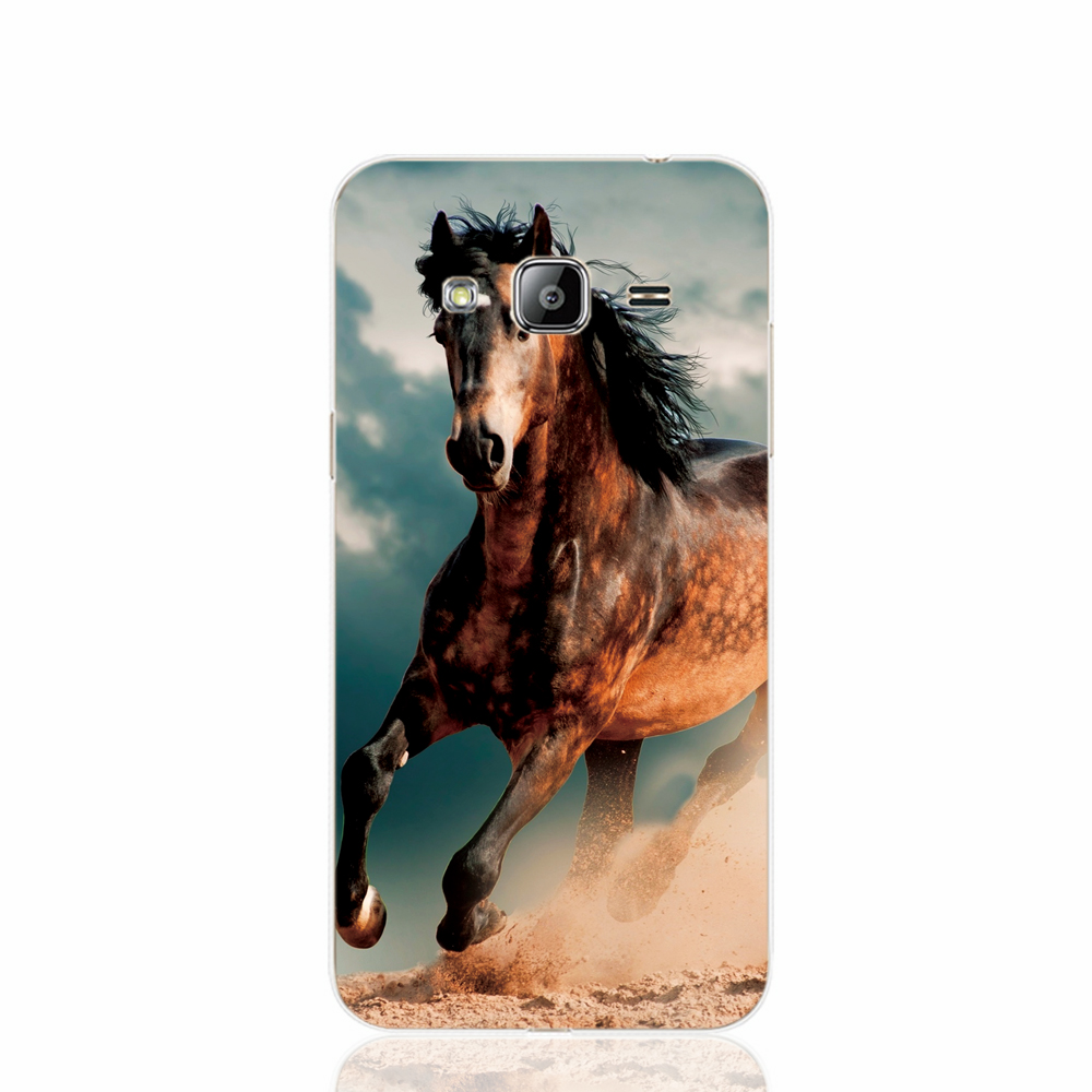 Shop2918059 Store 22440 The king of horse racing horse animal cell phone case cover for Samsung Galaxy J1 ACE J5 2016 J7 N9150