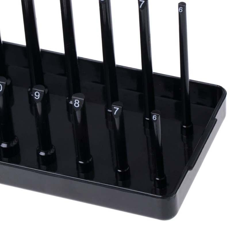 1 Pc Metric ABS Plastic Socket Organizer Holder Storage Trays 1 4 quot 3 8 quot 1 2 quot in Hand Tool Sets from Tools