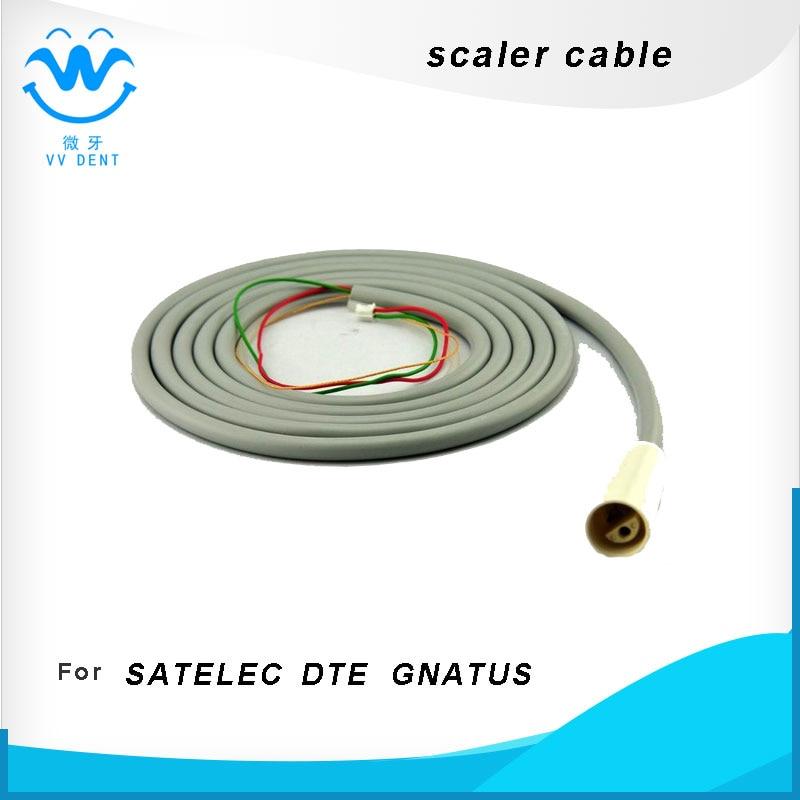 2пцс 2 # сцалер хандпиеце цабле фит ГНАТУС ДТЕ САТЕЛЕЦ, Стоматолошка одвојива кабловска цев за ултразвучно скалирање