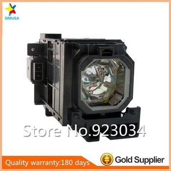 Original NP06LPbulb Projector lamp with housing fits for  NP1150 NP2150 NP3150 NP3151W NP1250 NP2250 NP3250W NP1200 NP2200