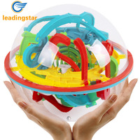 LeadingStar 118 Challenging Levels Magic 3D Maze Ball Interesting Labyrinth Puzzle Game Globe Toys