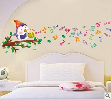 Notes three generations of wall stickers child real baby sticker