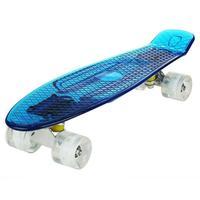 2019 cheap boards for sale complete Skateboard 22'' Retro Mini Skate long board cruiser longboard wheels led lights