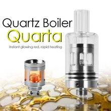 Longmada Quartz Atomizer Wax Tank  510 Thread Starter Kit Rapid Heating Coils Replaceable For 20 35W Box Mod Pen Battery Cheap