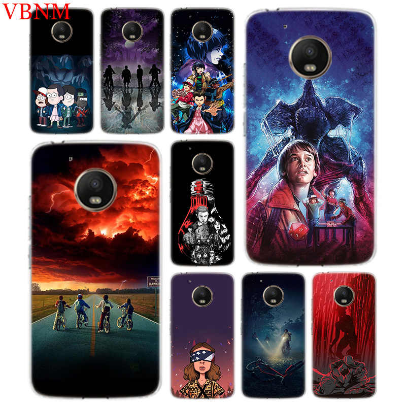 Stranger Things Poster Accessories Phone Case For Motorola Moto G7 G6 G5S G5 E4 Plus G4 E5 Play Patterned Customized Coque Cover