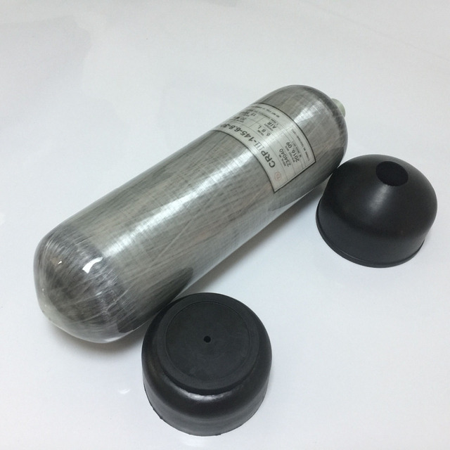 New updated carbon fiber cylinder protector rubber silicon ger cups cover air cylinder sleeve for  9L
