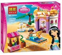 2016 Nouveautés Blocs de Construction BELA Amis Exotique Palais 145 pcs/ensemble Princesse Fille Diy Briques jouets Compatible Legoe Amis