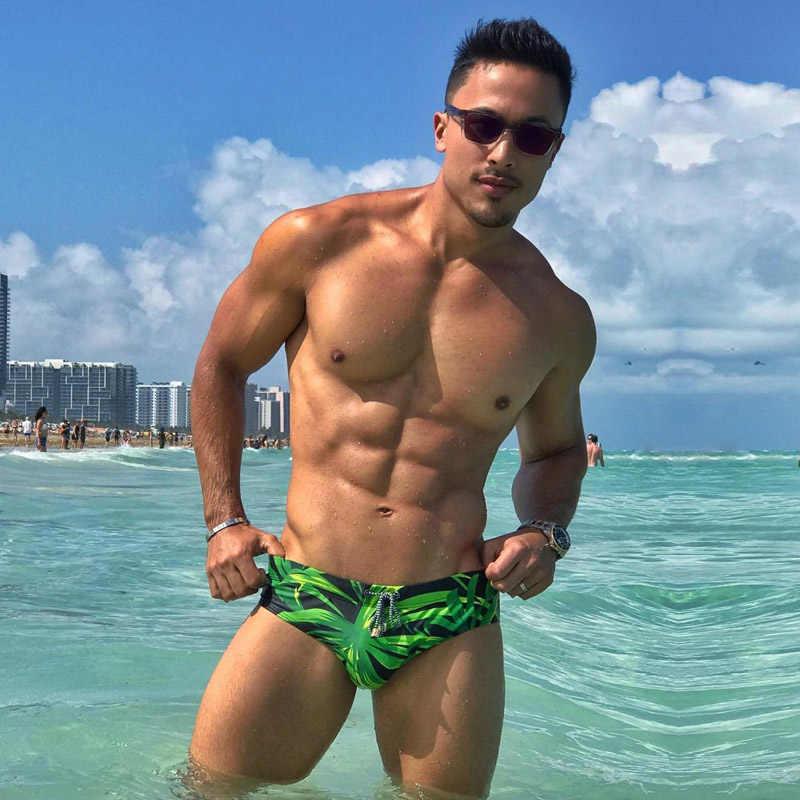 Taddlee marca nova masculino nadar briefs homem roupa de banho gay pênis bolsa wj almofada dentro melhorar os maiôs de natação board surf shorts
