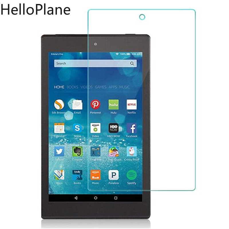 Tempered Glass Screen Protector For Amazon Kindle Fire HD 7 8 2020 2019 2018 2017 2016 2015 HD7 HDX7 HD8 Tablet Film