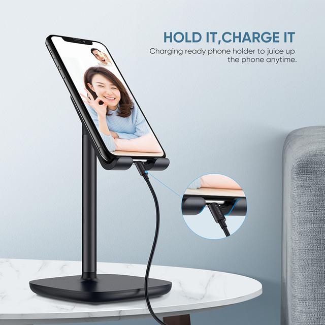 Adjustable Desk Stand Holder for Phones