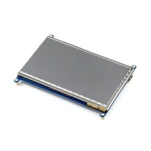 Image 5 - 7 дюймовый сенсорный экран Raspberry pi 1024*600 7 дюймовый емкостный сенсорный ЖК экран HDMI интерфейс поддерживает различные системы для arduino