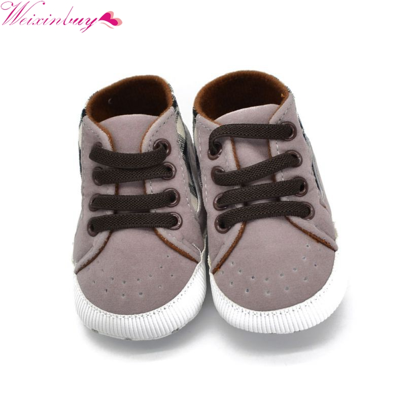 Baby Boy Infant Crib Shoes