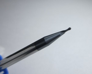 Image 3 - 1 adet HRC45 karbür topu burun frezeler CNC makinesi ballnose freze kesicisi çapı 1mm 4mm 6mm 10mm 16mm 20mm 45HRC ücretsiz kargo