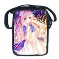 Каваи мультфильм аниме девушки школьный для девочки мода мини слинг сумка для детей сорта 3-6 кошельки сумка для женщин