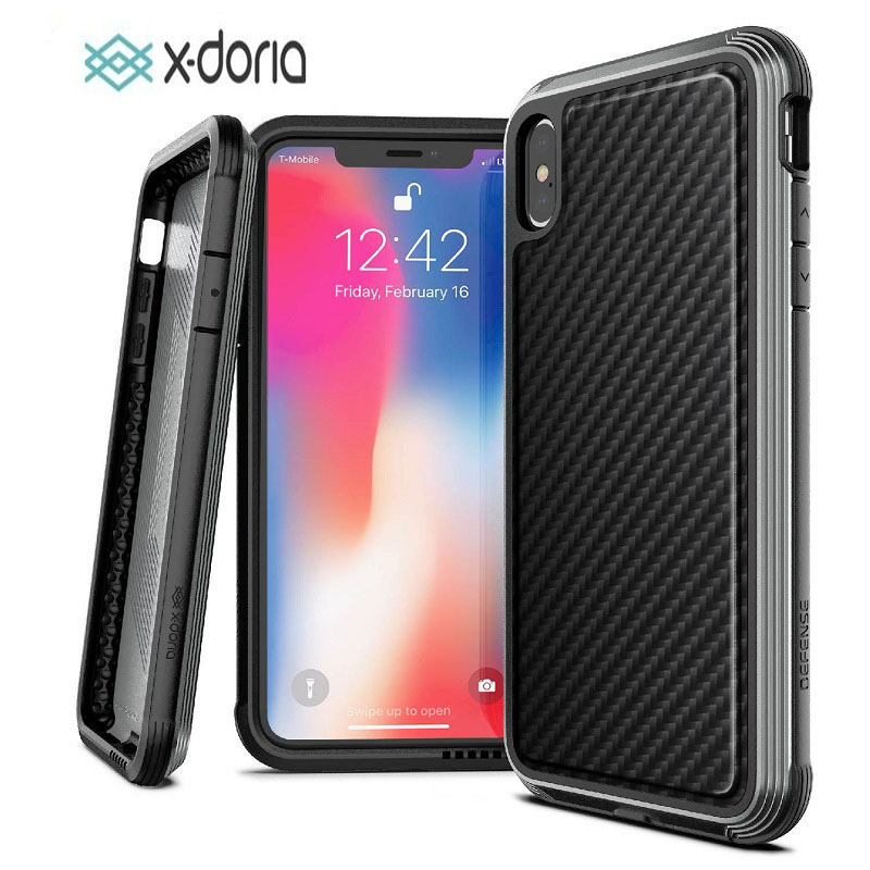 super popular 446ba 64842 For iPhone 8 Case, X-Doria Defense Lux Series - Military Grade Drop Tested  Protective Case for iPhone 8