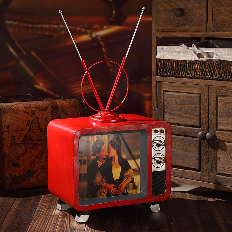 Home Furnishing retro television Home Furnishing decoration decoration craft gifts, decorations and village