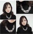 Moda Delicado Zirconia SUPIN Torques Suéter Cadena de La Joyería de Lujo Collares y Colgantes Collar Corto Para Las Mujeres Y Las Niñas