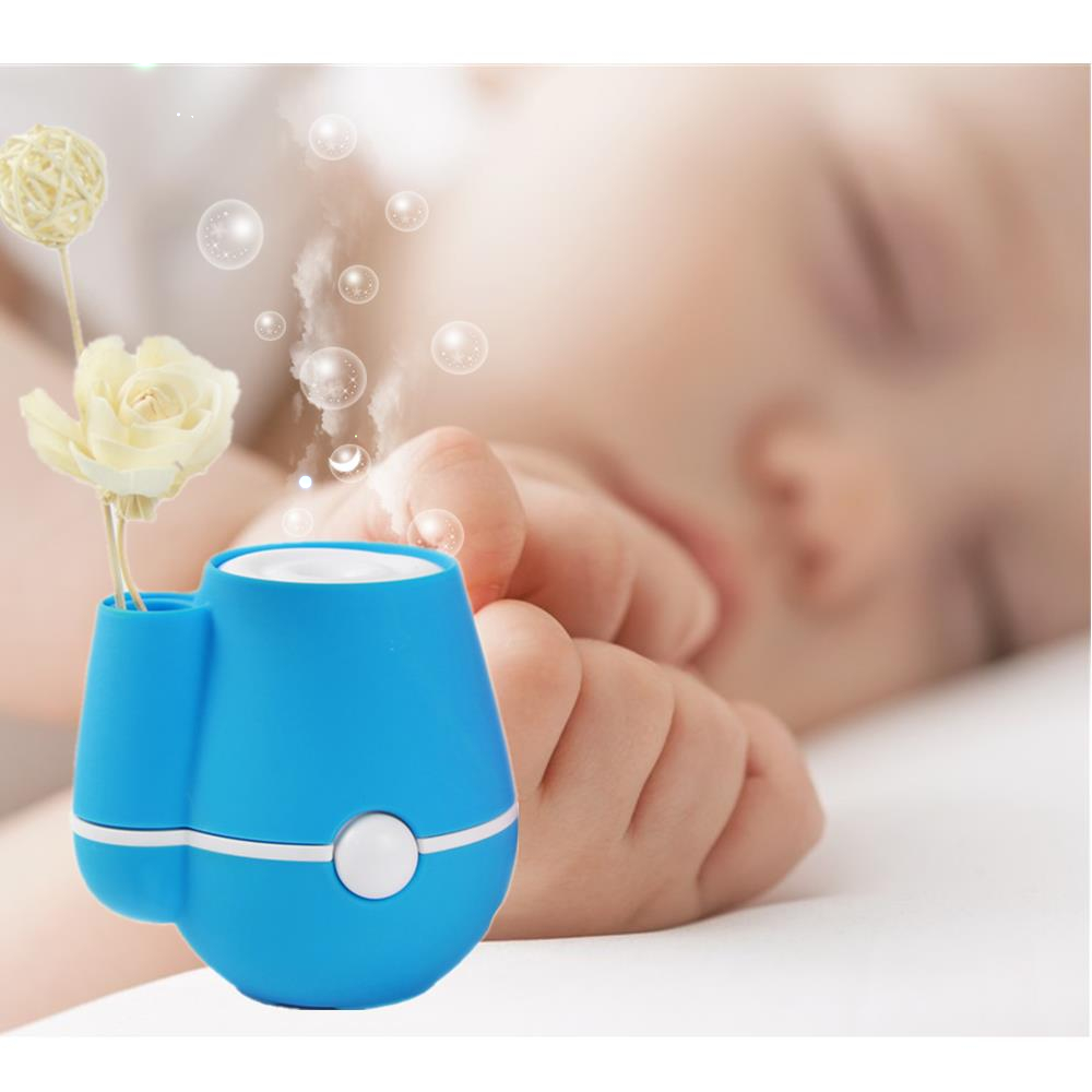 Ultrasonic Humidifier USB Mini Steam Home Car Humidifier 180ML Aroma Essential Oil Diffuser Aromatherapy Mist Maker Office Home