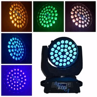 6 pcs/lot 36*18W RGBWA UV 6 IN1 LED Moving Head Light 19 DMX channels 36x18W LED moving head wash light|Stage Lighting Effect|Lights & Lighting -