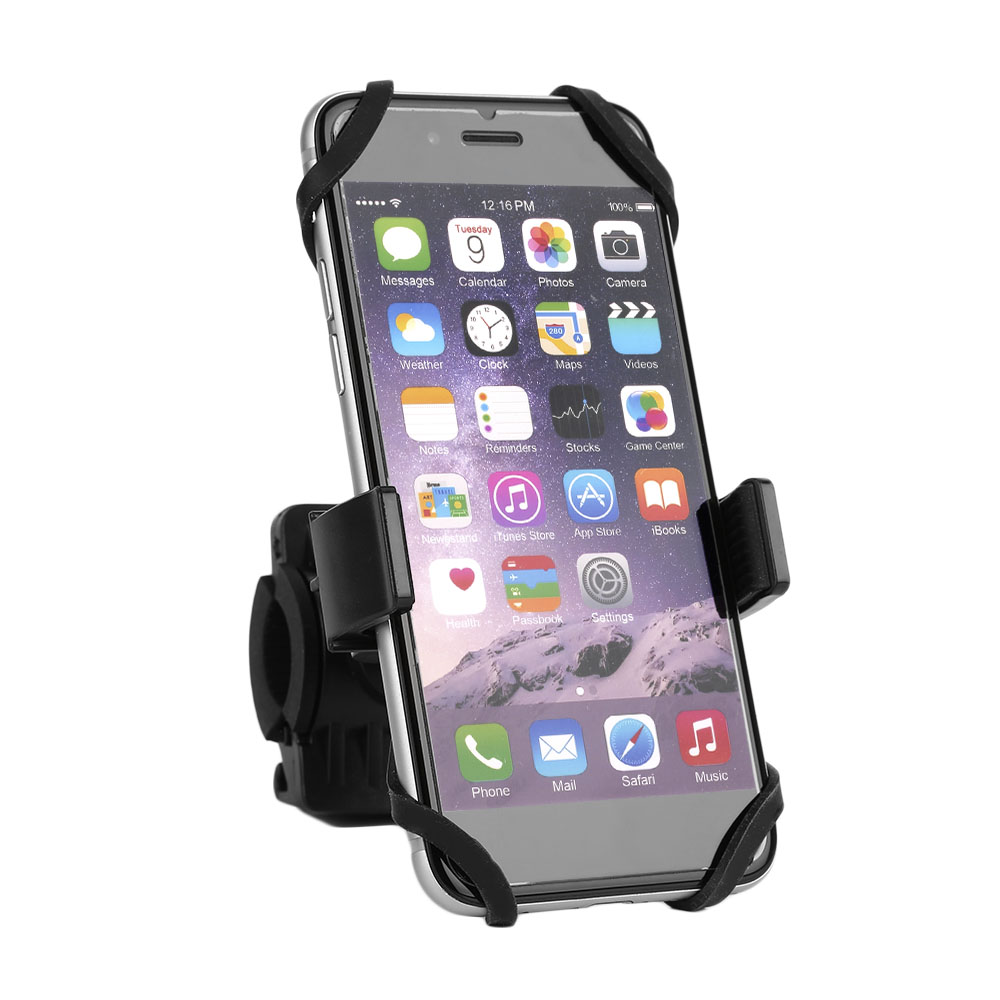 360 Degree Rotatable Bicycle Bike Motorcycle Phone Holder Handlebar Clip Stand Mount Bracket For iPhone Samsung Cellphone GPS