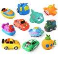 11 Estilos de Baño Ducha de Bebé Juguetes Squeeze Sonando Piscina Baño Flotante De Goma Animales/Coche/Pescado/Tren de Los Niños juguetes Para Niño