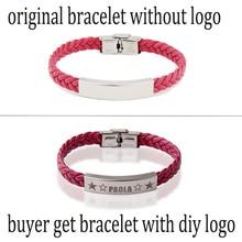 Let laser make your  Bracelet Personal. Write your logo