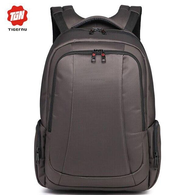 Tigernu Brand Waterproof Nylon Multifunction Laptop Bag Backpack Men and Women for 15.6 Notebook Business Computer Notebook Bag