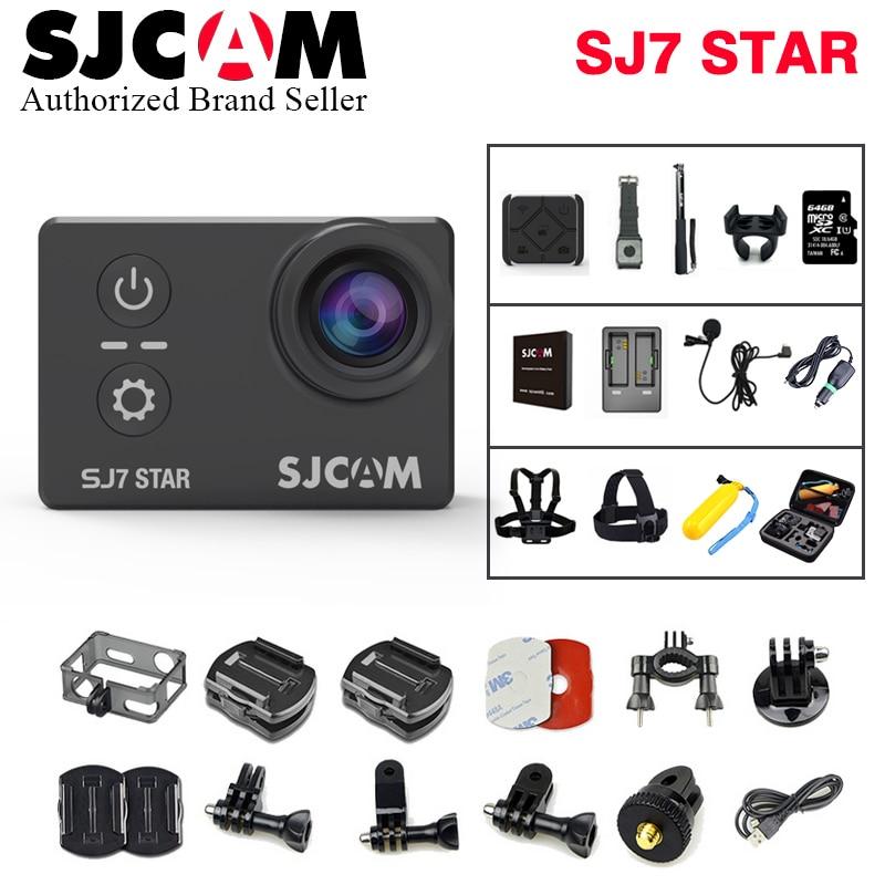 SJCAM SJ7 Star Wifi Action Camera 4K 30fps Gyro 2.0 Inch Touch Screen Ambarella A12S75 Sport Camcorder Diving SJ 7 Mini DV CAM