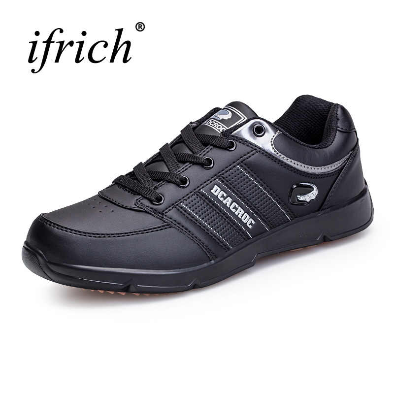 New Walking Shoes Men Plus Size 11 Sport Sneakers Spring Autumn Running Shoes for Man Leather Training Sneakers Athletic Shoes