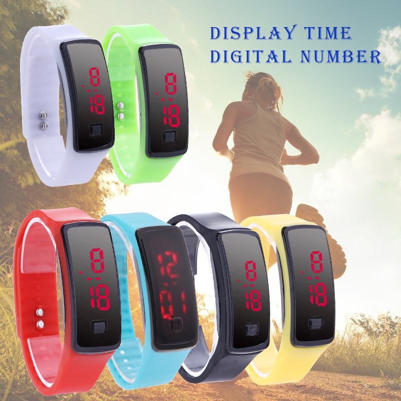 2019 Fashion LED Armband Digitale Horloges voor Heren & Dames & Kinderen Klok Dames Polshorloge Sport Polshorloge Student Digitaal Horloge