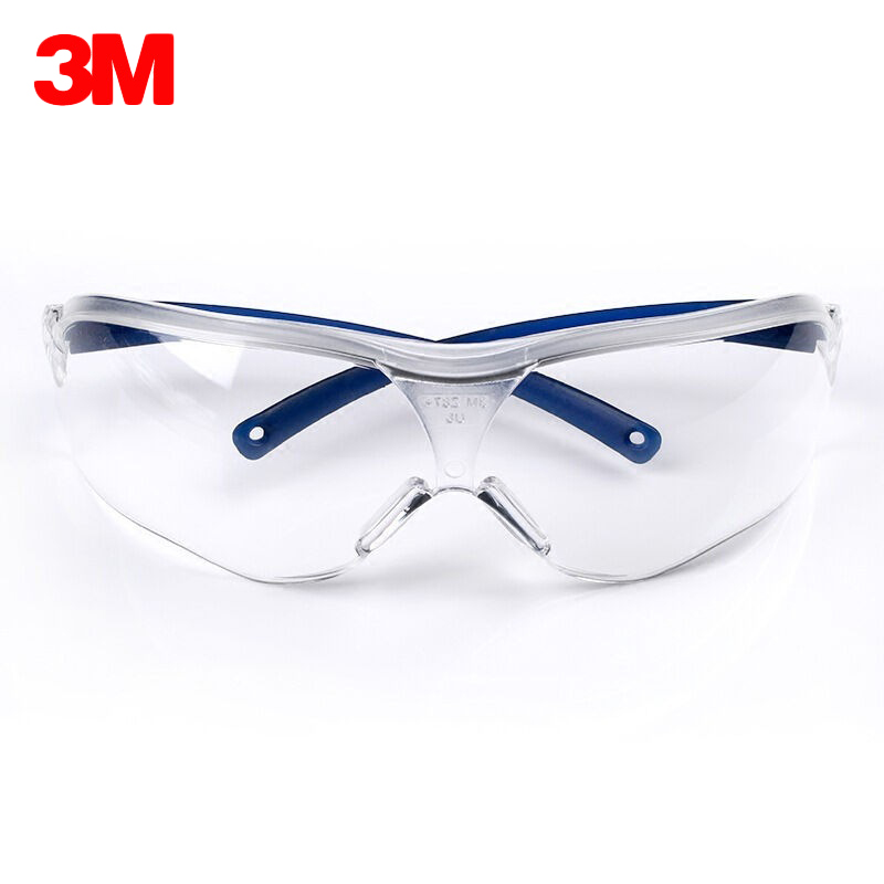 3M 10434 Safety Goggles Transparent Anti-Fog Glasses Anti-sand Windproof Anti Dust Resistant Working Glasses Protective eyewear 3m 1711 safety protective glasses anti shock windproof anti uv lightweight riding eyewear goggles g2305