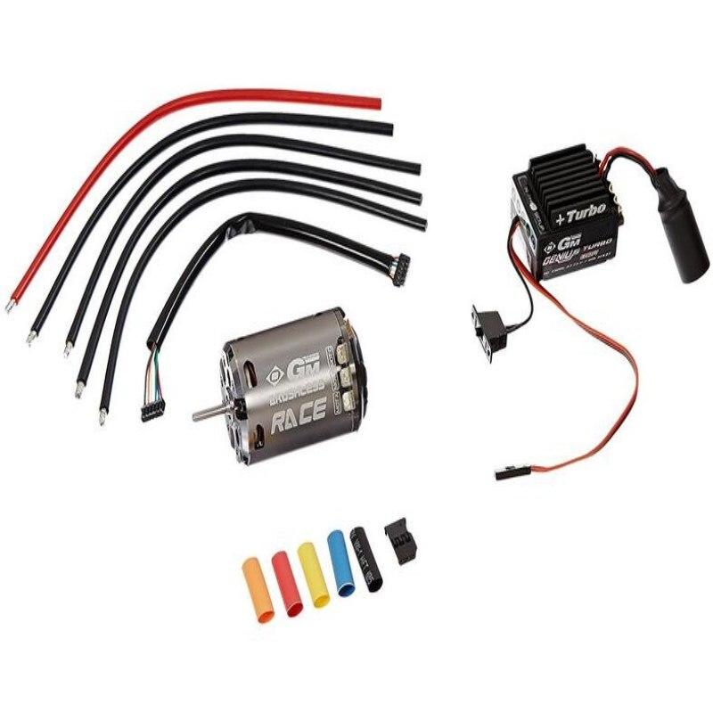 Graupner GM-GENIUS Turbo 80R/GM RACE 540 10.5 T Sensored Brushless Motor and ESC Combo