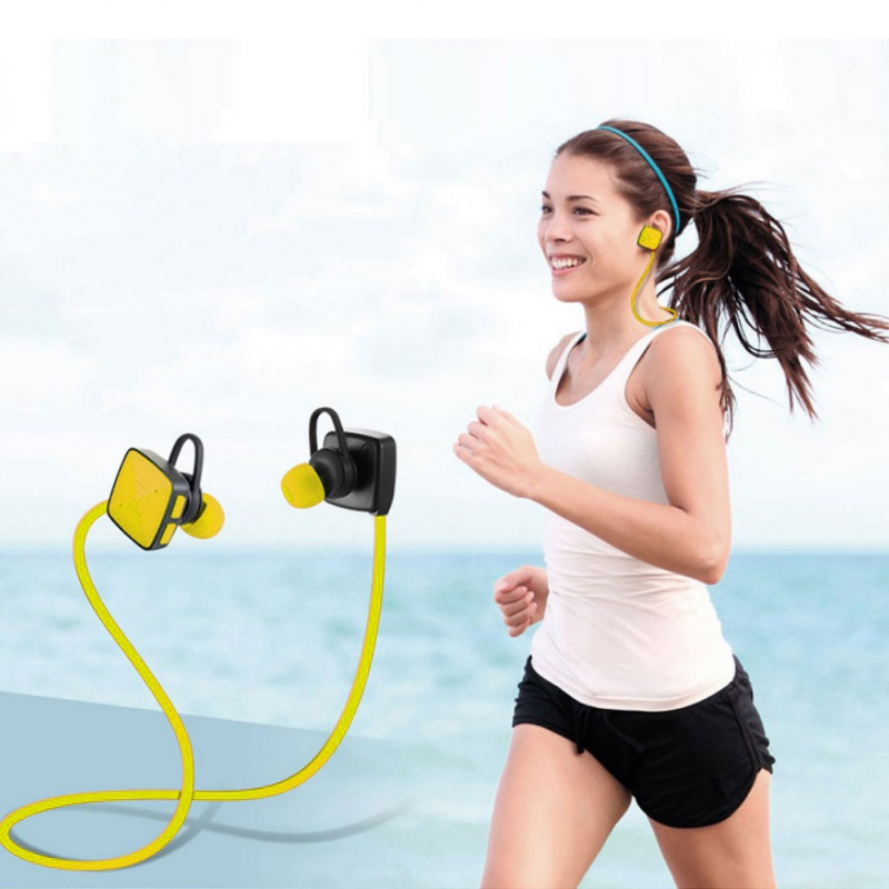 3 Colors Wireless In-Ear Bluetooth Earphone Stereo Unique Design Sports Earbuds Headset Bass Earphones For iPhone/Samsung Phone