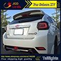 Estilo do carro luzes traseiras caso para Subaru XV 2013-2016 luzes traseiras LED Lâmpada de Cauda traseira tronco tampa da lâmpada drl + sinal + freio + reverso