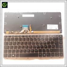 Spanish Backlit Keyboard For HP EliteBook Folio 1040 G1 1040 G2 739563-001 73956