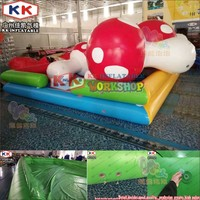 Custom round air sealed ocean balls pool indoor small water toys baby bath spa inflatable ball pit pool