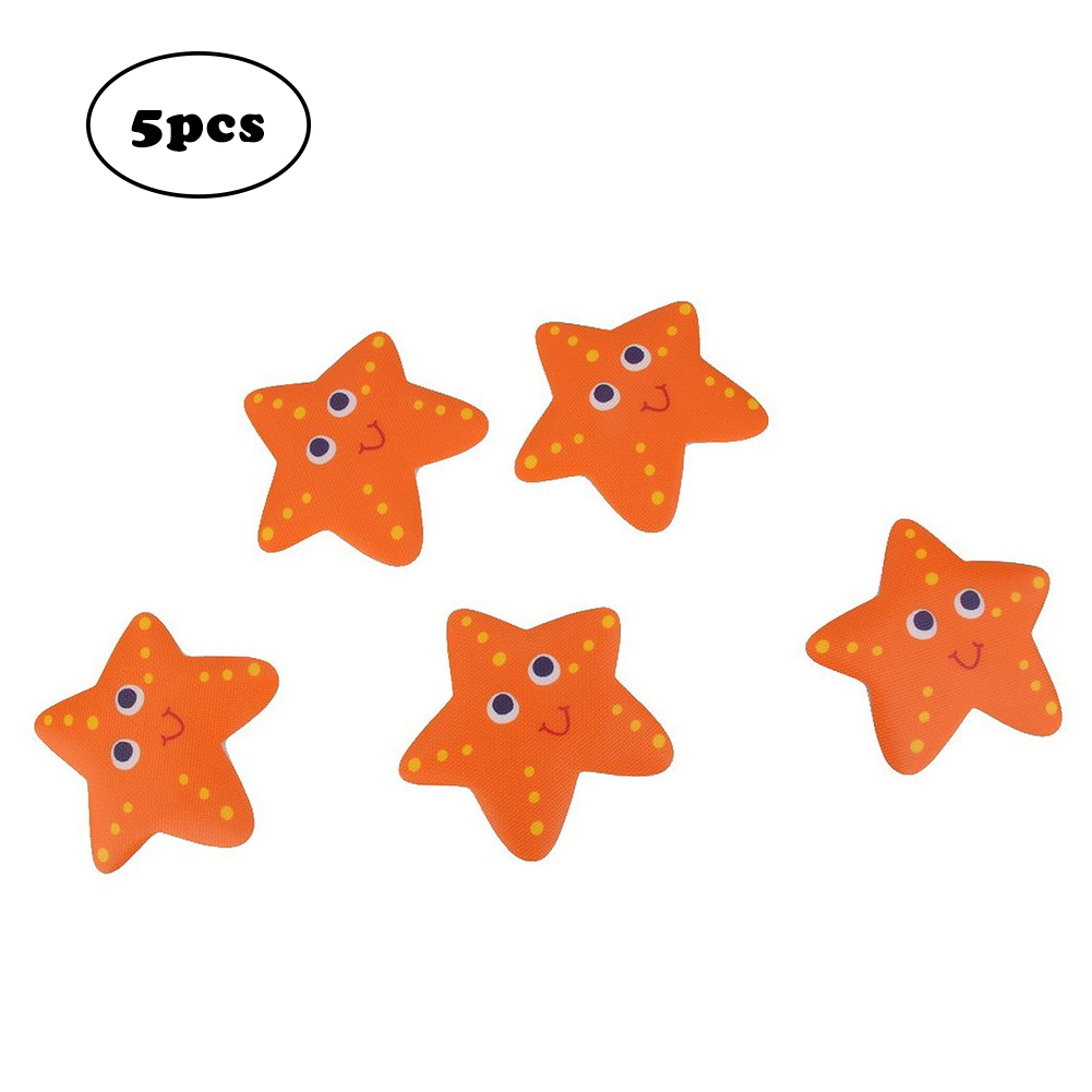 10Pcs Starfish Bathtub Stickers Safety Decals Tread Non Slip Anti-Skid Applique