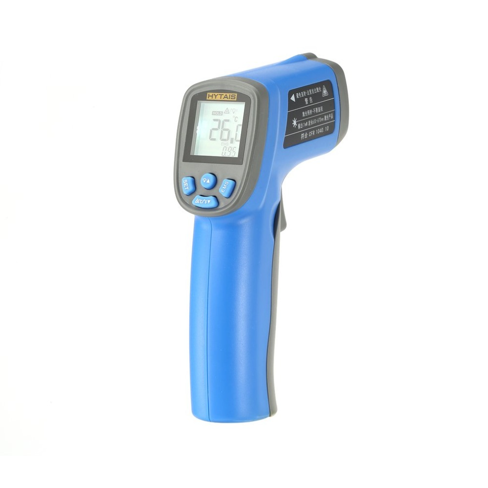 HYTAIS TS320 Digital Infrared Temperature Gun Handheld Thermometer Non-Contact IR Thermal Laser Point with LCD Backlight