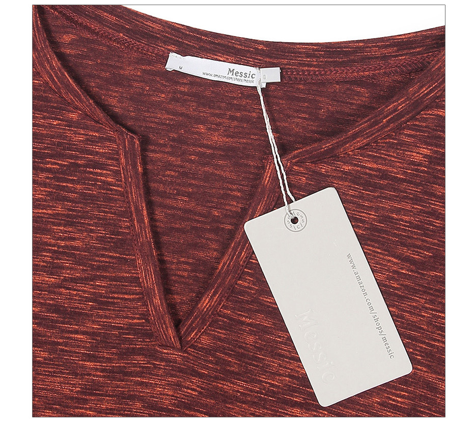 V-kaelusega naiste pluusid