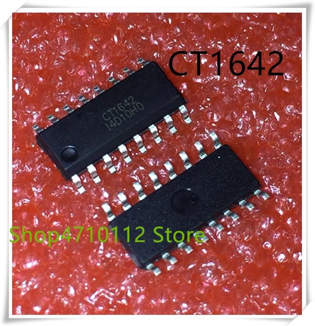 NEW 10PCS LOT CT1642 CT1642D SOP 16 IC