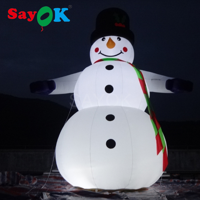 festival christmas decoration inflatable snowmans blow up christmas children toys giant outdoor 65ft inflatable snowman - Outdoor Blow Up Christmas Decorations