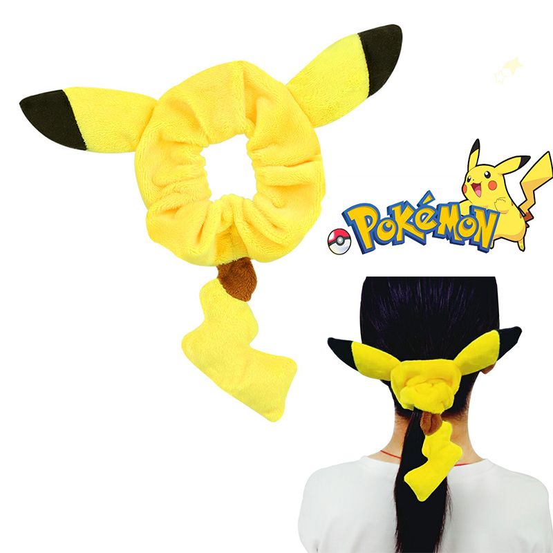 New Fashion Hairband Headband Anime Pocket Monsters Pikachu Cosplay Costumes Accessories Headwear Hair Band